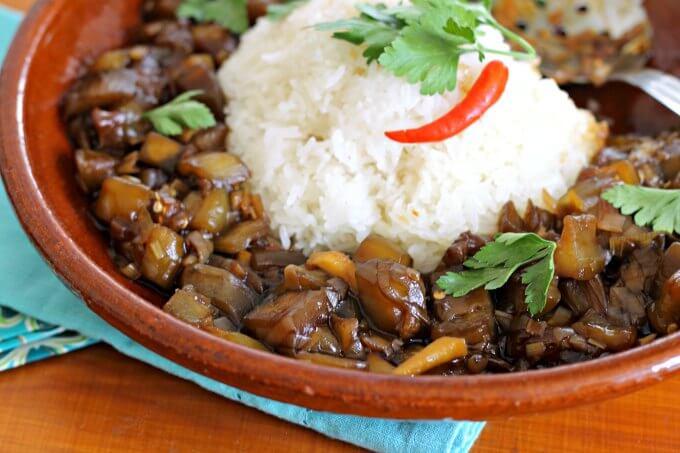 Laotian Fragrant Eggplant {#FoodOfTheWorld}