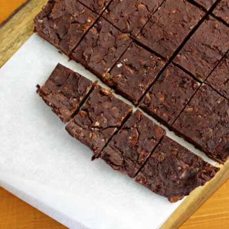 Loaded No Cook Fudge ~ Lydia's Flexitarian Kitchen