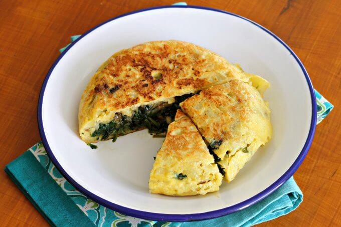 Stuffed Spanish Omelette {#TheRecipeReDux}
