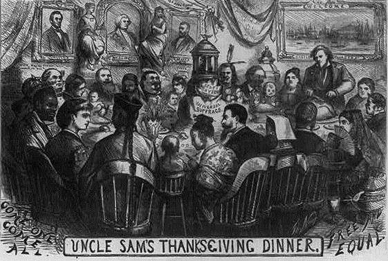 Thomas Nast's Thanksgiving Drawing