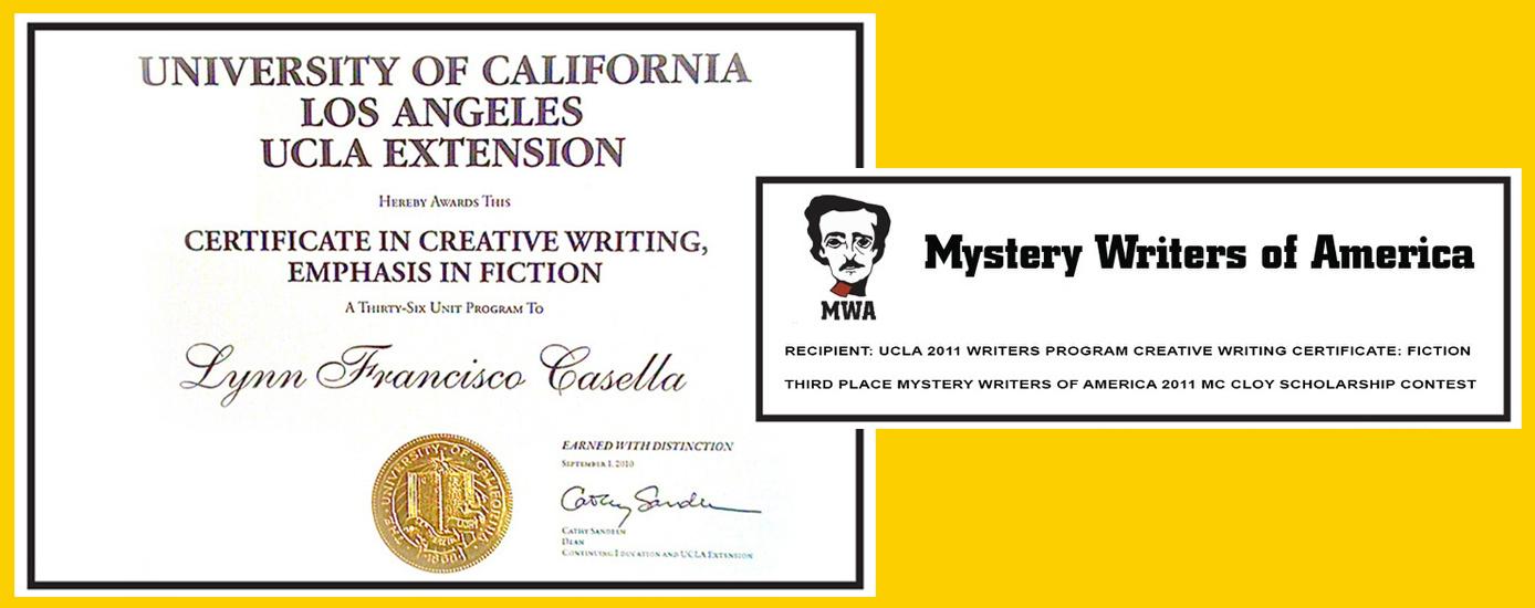 Award winning author Lynn F. Casella