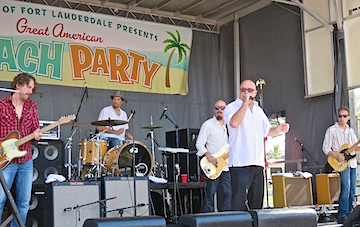 The Fabulous Thunderbirds were a huge hit in the Florida sun.