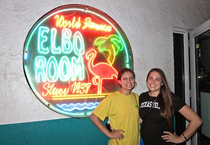 Paying homage to the venerable Elbow Room.