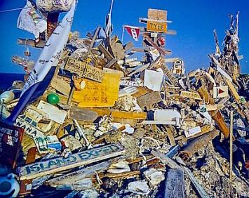 BooBoo Hill debris pile