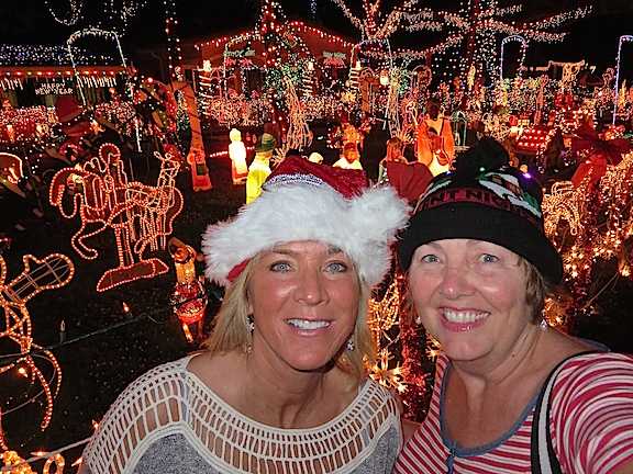 This annual mega light display draws throngs of visitors.