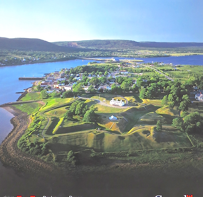 The French and the British fought incessantly over Nova Scotia and there are a bunch of forts left to prove it. Fort Ann was built in 1702 and designed by Vauban, the guru of European for design of his time.