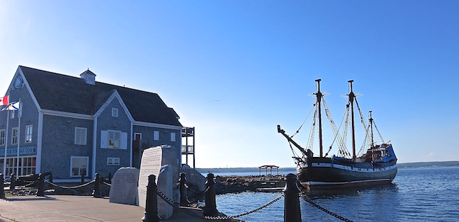 "About 200 Highland Scots arrived in Nova Scotia on September 15, 1773. The Hecta Heritage Quay and Ship is in Pictou, ""The Birthplace of New Scotland."""