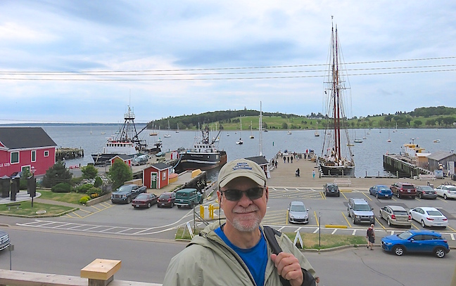 Lunenburg's historic docks was home to historic ships, a well established fishing fleet and private yachts.