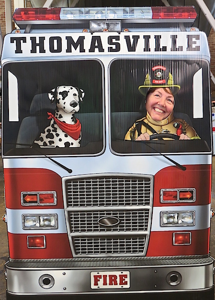 FIRE TRUCK FESTIVAL 2017 in SPENCER, NC