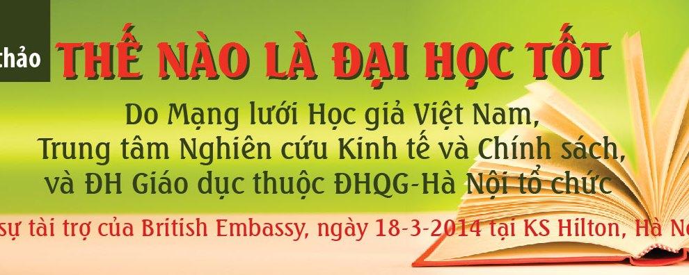 06 - Hoi Thao-The nao la dai hoc tot