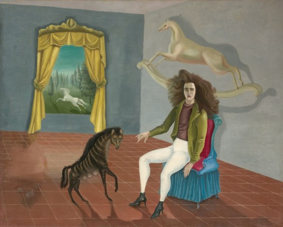 Leonora Carrington_Autorretrato, 1937-1938