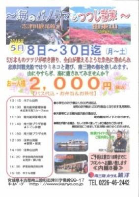 201505080530 ホテル観洋観光船&つつじプラン