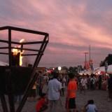 8月27日開催 「志津川湾かがり火まつり福興市」