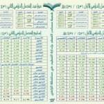 التقويم الدراسي لعام 1436 /1437