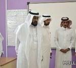 مدير تعليم الدوادمي يتفقد المجمعات التعليمية بالبجادية