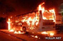 حارق حافلات الطالبات أقدم على جريمته احتجاجا على تدريس التربية الإسلامية بالمدارس