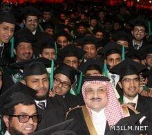الأمير محمد بن نواف يرعى حفل تخرج الدفعة الثالثة من مبتعثي برنامج خادم الحرمين