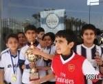 المدرسة السعودية بتبوك تحقق كأس صافيو للمرة الثانية
