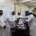 ثانوية أبو عريش الأولى تكرم طلاب الفكرية المتفوقين