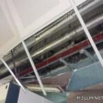 انهيار سقف أحد مختبرات العلوم بجامعة الباحة