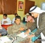 الفهيد يناقش طلاب ومديري مدارس نجران في نواقصهم