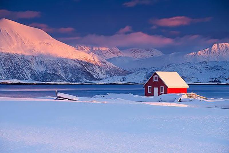 un voyage de noces en hiver
