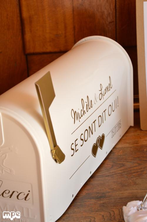 urne de mariage DIY
