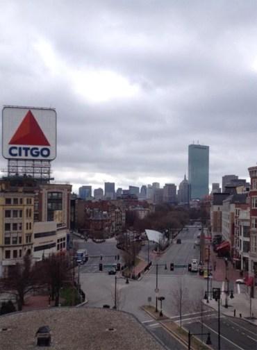 Boston désertée - https://twitter.com/goldenprguy/status/325273525072060416/photo/1