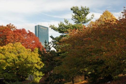 L'automne à Boston - l'été indien - Hancock Tower