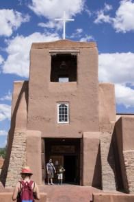 Vieille église de Santa Fe - San Miguel MIssion - Nouveau Mexique
