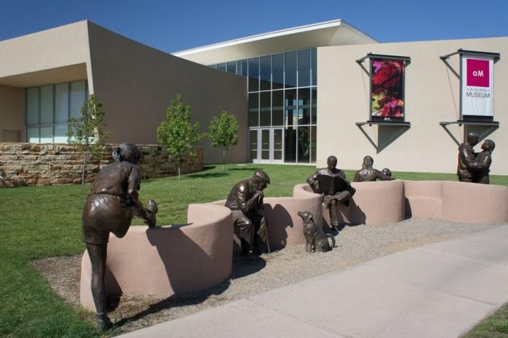 Old Town Albuquerque Nouveau Mexique musée d'art