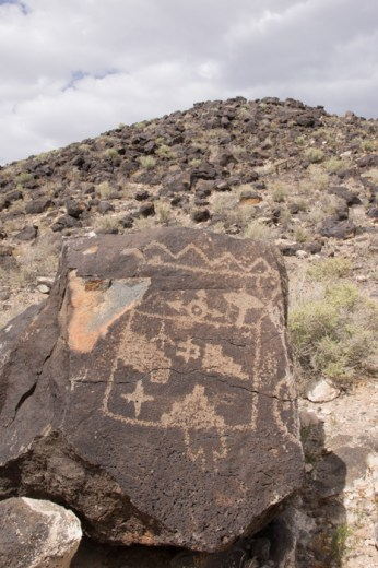 Petroglyph National Monument Albuquerque Nouveau Mexique 1