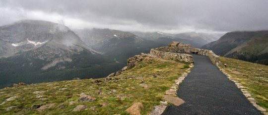 Rocky Mountain National Park - Trail Ridge Road la toundra