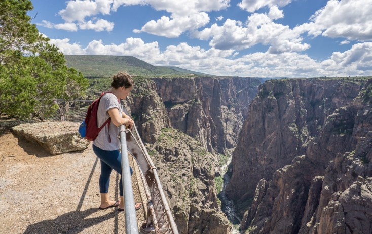 Black Canyon of the Gunnison - National Park - Colorado - road trip Etats-Unis - Vue 1