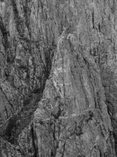Black Canyon of the Gunnison - National Park - Colorado - road trip Etats-Unis - la roche