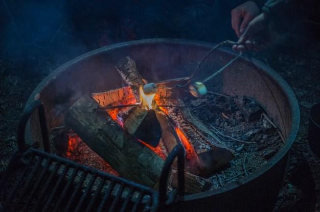 Camping aux Etats-Unis - les smores