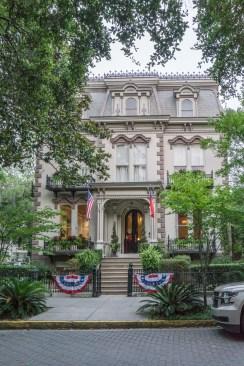 Visiter Savannah Georgie - maison 4 Juillet