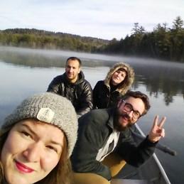 Maine Noel selfie
