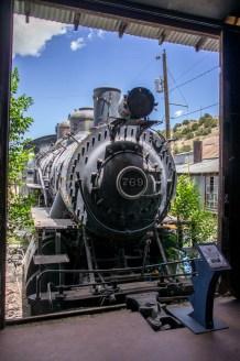 LA route de la turquoise nouveau mexique musee train