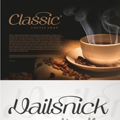 Vailsnick Italic Font icon