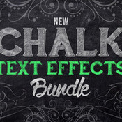 Creativemarket Chalk Text Effect Bundle 162152 icon