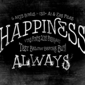 Creativemarket Happiness Always 189551 icon