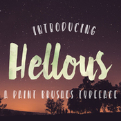 Creativemarket Hellous Typeface with EXTRAS 227014 icon