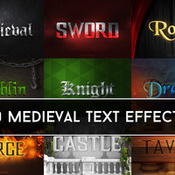 Creativemarket Medieval Text Effects 214290 icon