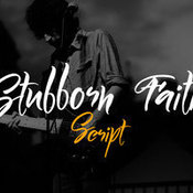Creativemarket Stubborn Faith Script 205247 icon