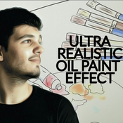 Creativemarket Ultra Realistic Oil Paint Effect 195777 icon