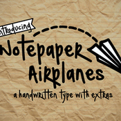 Creativemarket Notepaper Airplanes 327158 icon