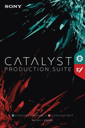 Catalyst Production Suite flat box icon