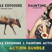 Creativemarket Exposure and Painting Action Bundle 336452 icon
