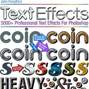 5000 photoshop text effects logo icon